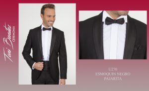 Trajes y Vestidos: U270 ESMOQUIN NEGRO PAJARITA - Benitez & Paulano | Trajes de novio y vestidos de fiesta