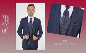 Trajes y Vestidos: U50 TRAJE NOVIO AZUL - Benitez & Paulano | Trajes de novio y vestidos de fiesta